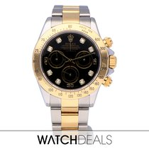 Rolex Daytona 116523 Very good Gold/Steel 40mm Automatic