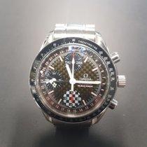 Omega 3529.50.00 Steel Speedmaster Day Date pre-owned