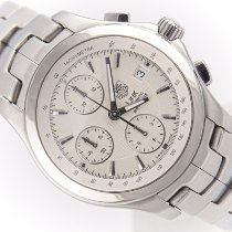 TAG Heuer Link Calibre 16 Steel 42mm Silver