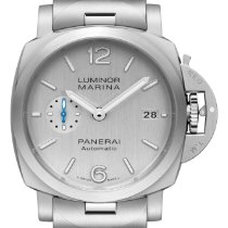 Panerai Steel Automatic Grey Arabic numerals 42mm new Luminor Marina 1950 3 Days Automatic