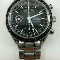 Omega Speedmaster Day Date Steel 39mm Black No numerals United States of America, New York, Fresh Meadows