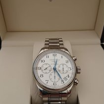 Longines Master Collection Acier 44mm Blanc Arabes France, loguivy-plougras