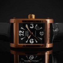Oris Miles Rectangular Rose gold 35mm Black Arabic numerals