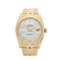 Rolex Datejust 18k Yellow Gold Unisex 116238 - W3738