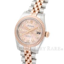롤렉스 (Rolex) Datejust Diamond Index Pink Gold Steel 26MM...