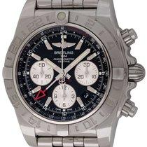 Breitling : Chronomat GMT 44 :  AB042011/BB56 :  Stainless Steel