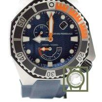 Girard Perregaux Sea Hawk 44mm Blue Dial Blue Rubber NEW