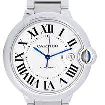 Cartier Ballon Bleu Men's 42mm Stainless Steel Automatic Watch...