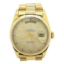 Rolex President Day-date 18k Yellow Gold 36mm Watch 18238