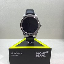 Montblanc Summit Smartwatch - Cassa in acciaio con cinturino in