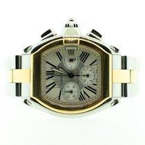 Cartier Roadster ouro e aço Chronograph