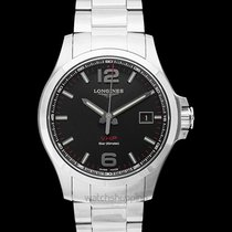 Longines Conquest Steel 43mm Black United States of America, California, San Mateo