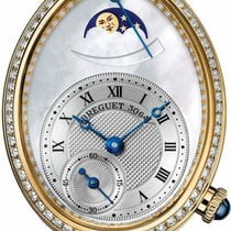 Breguet new Automatic Small Seconds 28.5mm Yellow gold Sapphire Glass