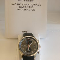 IWC Portuguese Yacht Club Chronograph Staal 43.5mm Arabisch