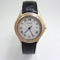 Cartier Cougar Gelbgold 33mm Römisch Deutschland, Essen