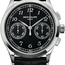 Patek Philippe Chronograph White gold 39.4mm Black Arabic numerals United States of America, New York, NEW YORK