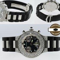 Cartier 21 Chronoscaph Acero 38mm Negro