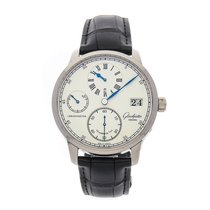 Glashütte Original Senator Chronometer Regulator White gold 42mm Silver Arabic numerals United States of America, Pennsylvania, Bala Cynwyd