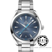 Omega Steel Automatic Blue 41mm new Seamaster Aqua Terra