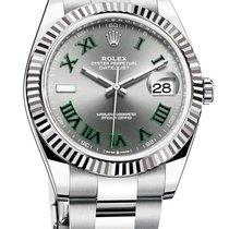Rolex Datejust II Steel 41mm Grey No numerals United States of America, New York, New York