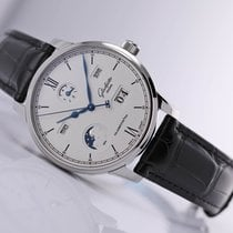 Glashütte Original Senator Excellence Steel 42mm Silver Roman numerals United States of America, New Jersey, Princeton