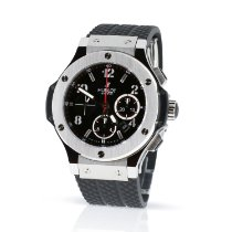 Hublot Big Bang 44 mm Acciaio 44mm Nero Arabo