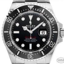 Rolex Sea-Dweller 4000 Ocel 43mm Černá