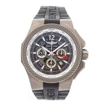 Breitling Bentley B04 GMT Titan 49mm Grau Arabisch