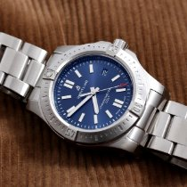 Breitling Chronomat Colt Steel 44mm Blue No numerals