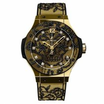 Hublot Big Bang Broderie Or jaune 41mm