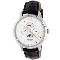 Montblanc Heritage Spirit Steel 39mm Silver No numerals United States of America, Pennsylvania, Bala Cynwyd