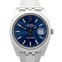 Rolex Datejust Steel 41mm Blue