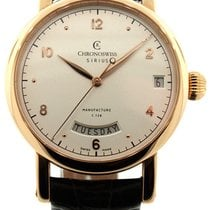 Chronoswiss Sirius Rose gold 40mm Silver United States of America, New Jersey, Cresskill