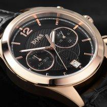 Hugo Boss Baldessarini Black Chronograph Gold Herrenuhr Quarz...