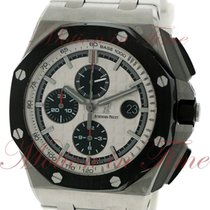 Audemars Piguet Royal Oak Offshore Chronograph Steel 44mm Silver No numerals United States of America, New York, New York