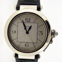 Cartier Witgoud Automatisch Zilver 42mm tweedehands Pasha