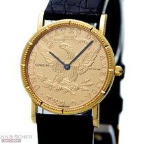 Corum Coin Watch Gelbgold 28mm Gold Keine Ziffern Deutschland, München