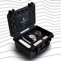 Victorinox Swiss Army nowość Fluorescencyjne wskazówki Seria limitowana Fluorescencyjne indeksy 43mm Tytan Szkiełko szafirowe