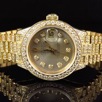 Rolex Lady-Datejust 27mm Champagne