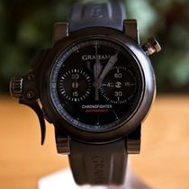 Graham Chronofighter Back In Black Rattrapante Limited  100 ...