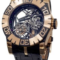 Roger Dubuis Easy Diver Tourbillon 18K Rose Gold & Carbon...