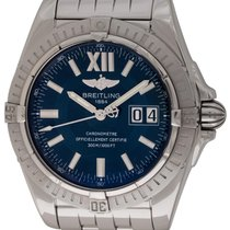 Breitling : Galactic 41 :  A49350 :  Stainless Steel