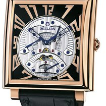 Milus Herios TriRetrograde Seconds HERT400