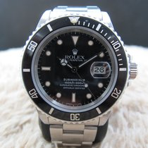 """Rolex SUBMARINER 168000 (Triple """"0"""") with Tropical Dial"""