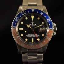Rolex 1675 Steel 1978 GMT-Master 40mm pre-owned