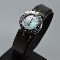 Bulgari B.Zero1 Black MOP Mother of Pearl Diamond Dial BZero...