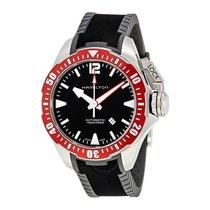 Hamilton Khaki Navy Frogman Automatic Black Dial Swiss Watch...