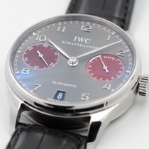 IWC Portuguese Automatic Steel 42.3mm Grey Arabic numerals United States of America, Texas, Houston