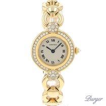 Cartier Rivoli Colisee 18K Yellow Gold Diamonds Special Order