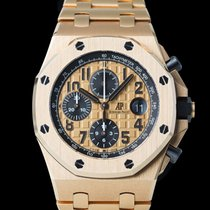 Audemars Piguet Red gold Automatic Gold 42mm pre-owned Royal Oak Offshore Chronograph